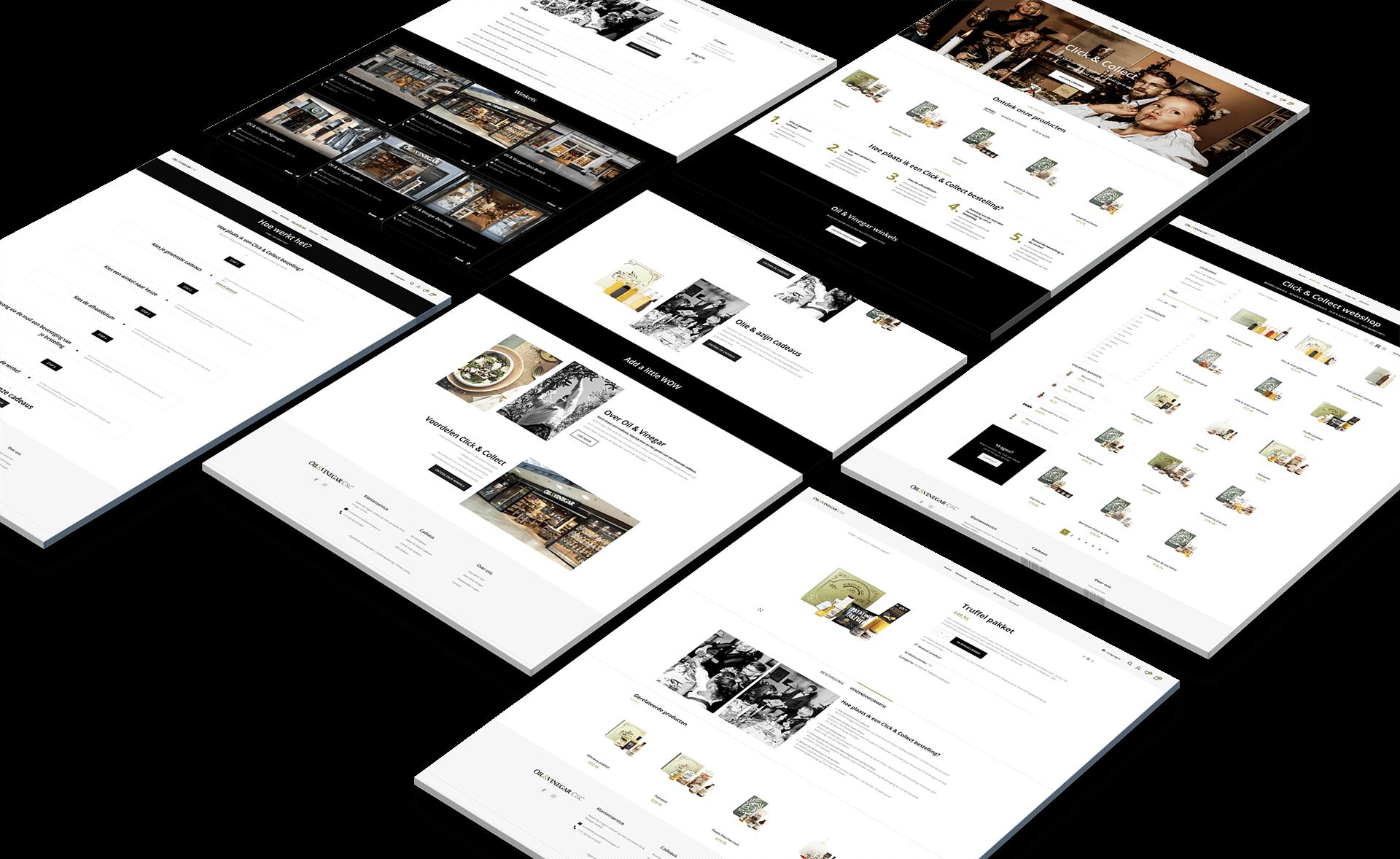 Webshop template